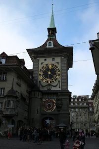 Bern clock tower Zytglogge