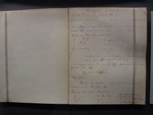Einstein's notes 1