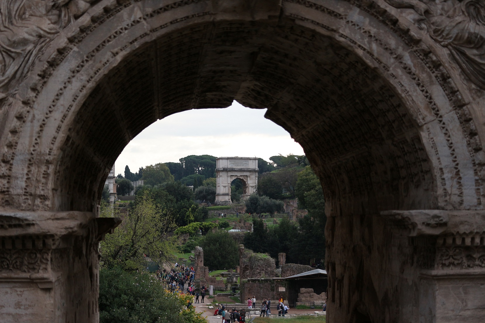 Arches in Rome