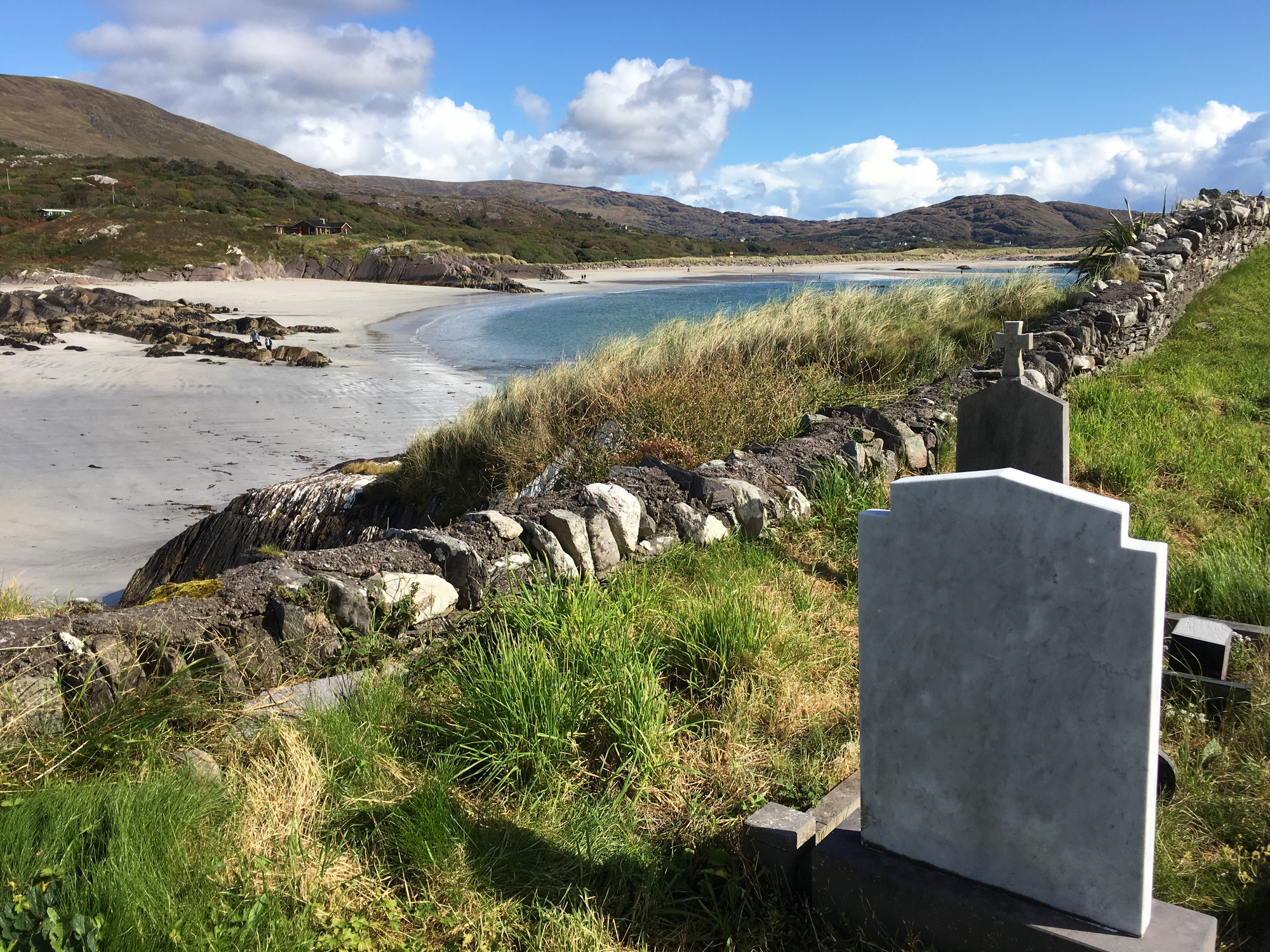 Derrynane Abbey Cemetery, Part of the Ring of Kerry, Ireland