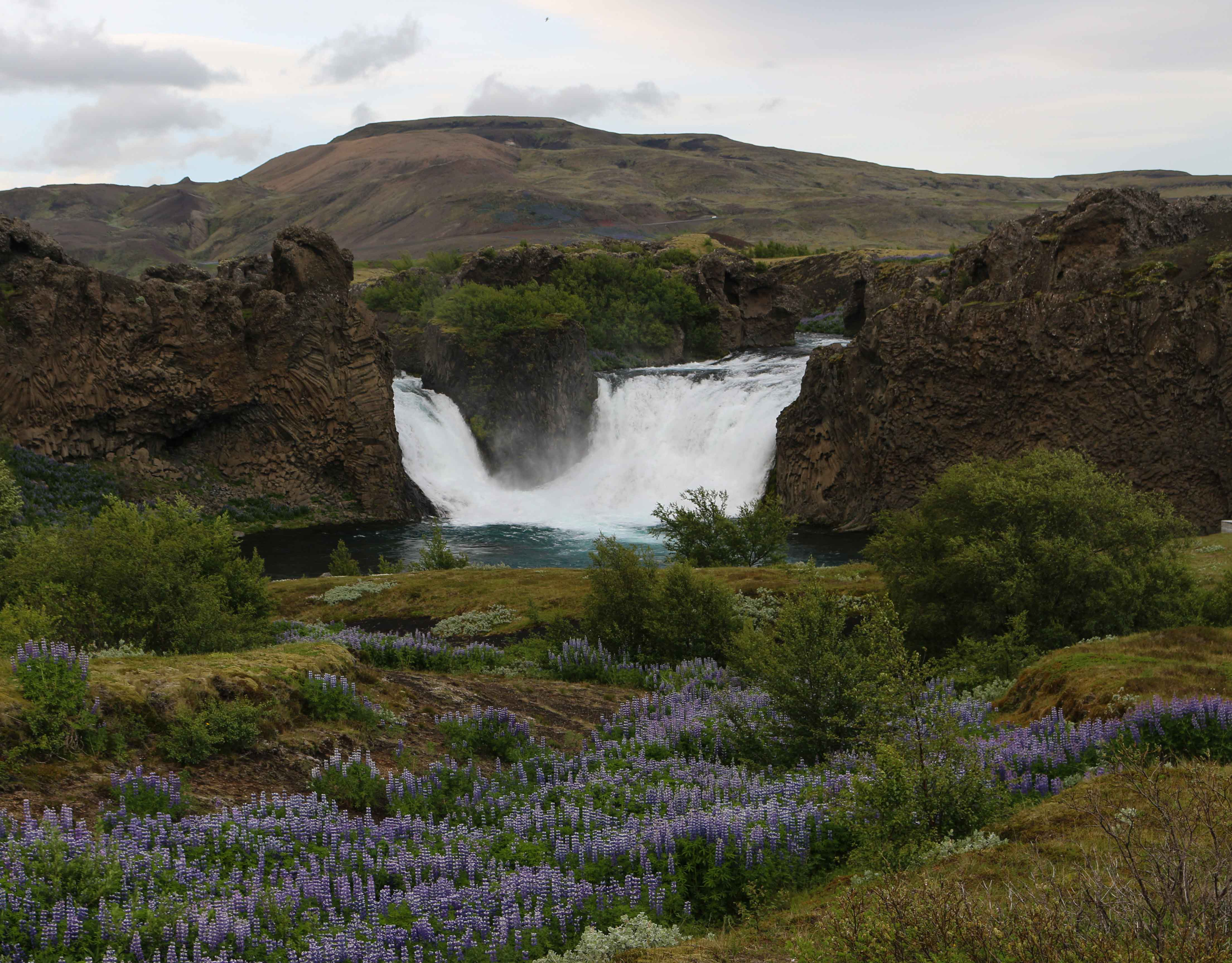 Hjalparfoss Iceland