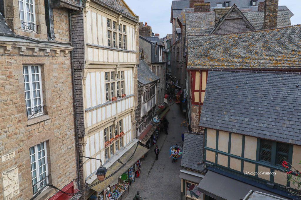 Inside Mont St. Michel