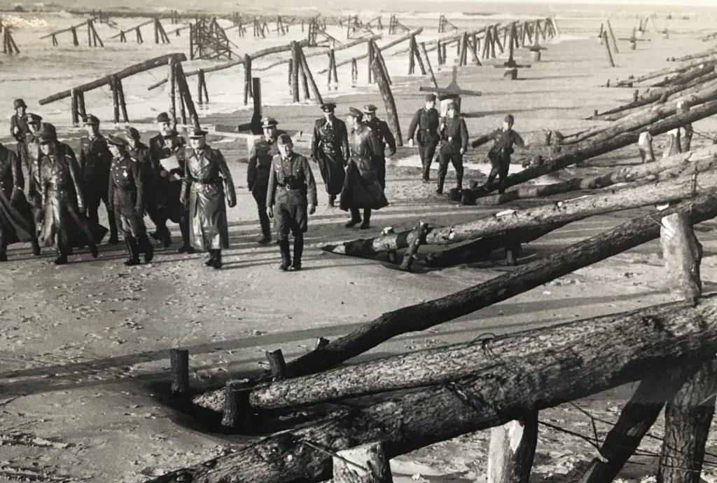 Omaha beach defences
