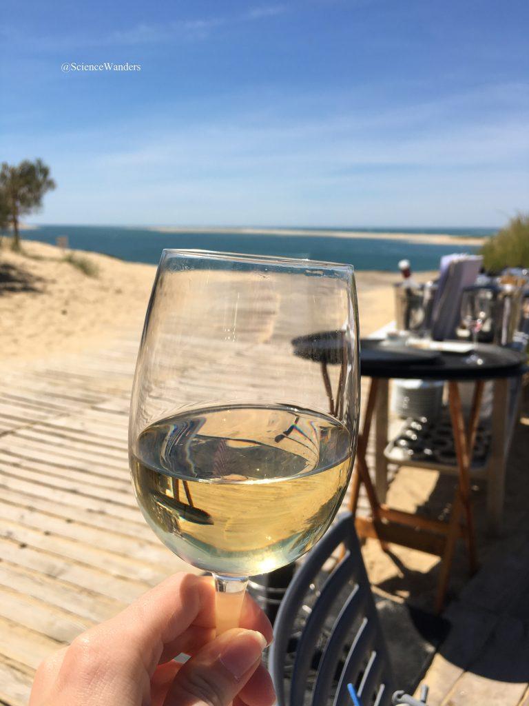 Wine at Dune du Pilat