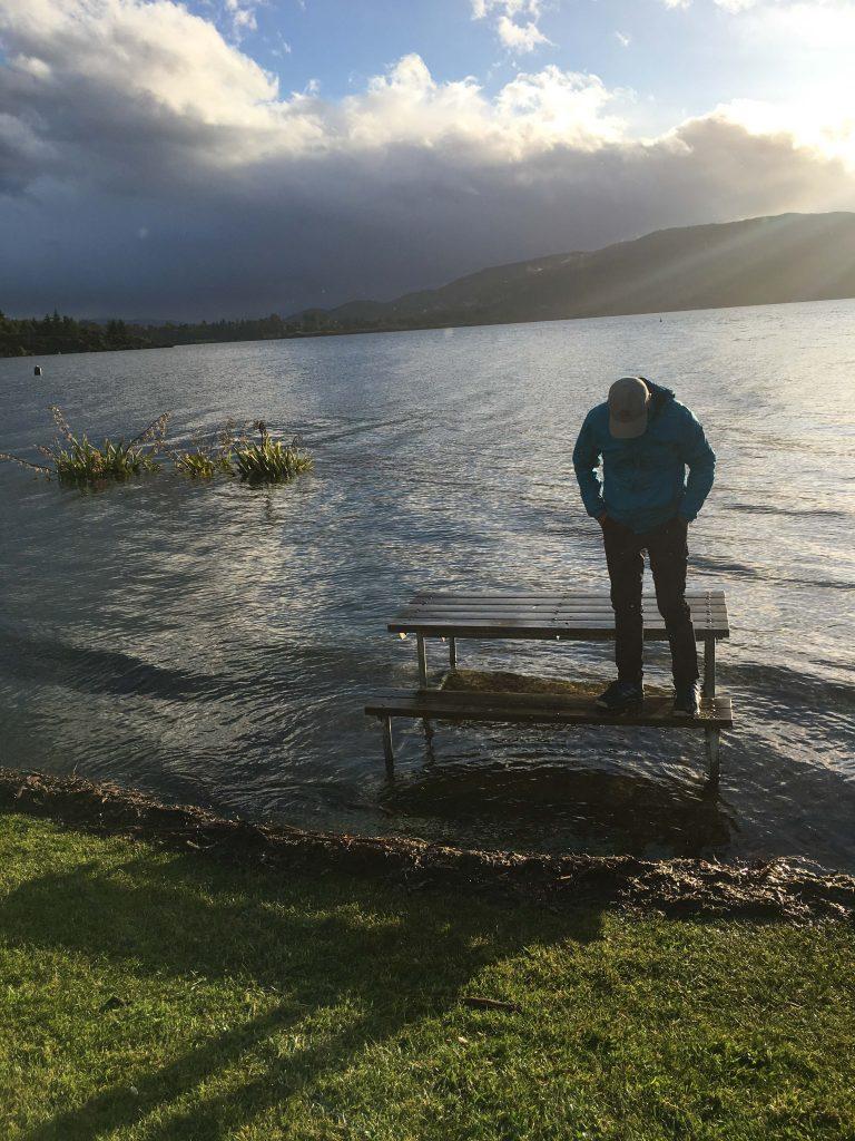 Te Anau flooded