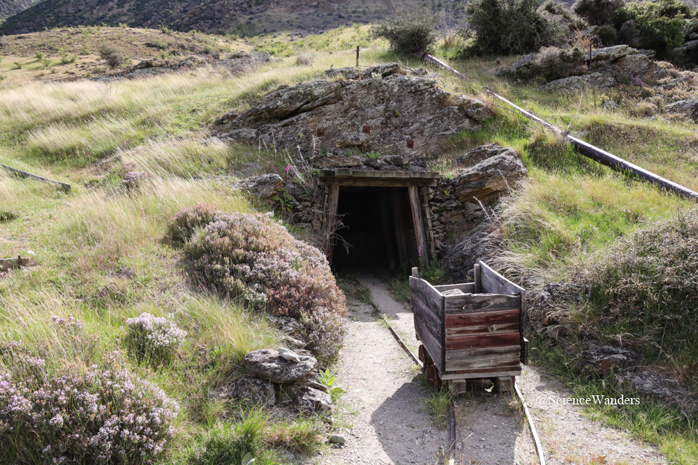 Gold rush mining in New Zealand
