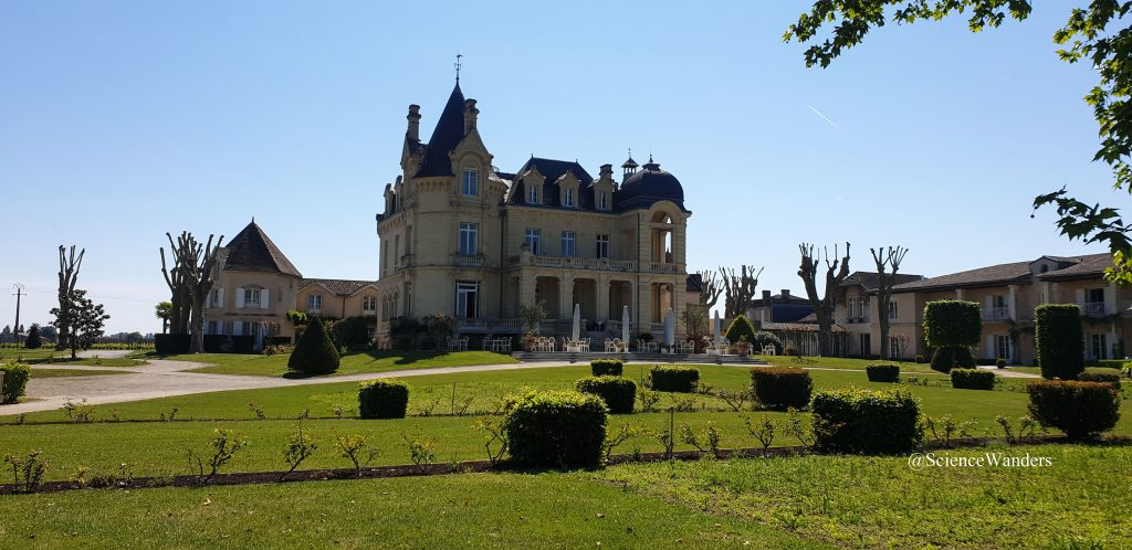 St Emilion vineyard chateau